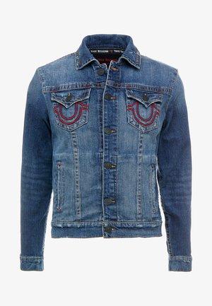 BRANDED JACKET - Jeansjakke - indigo
