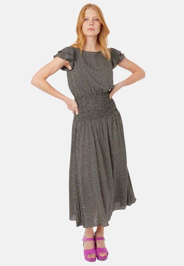 MIT STERNENPRINT  - Sukienka letnia - black