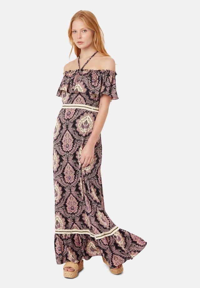 MIT PAISLEY-PRINT - Długa sukienka - black