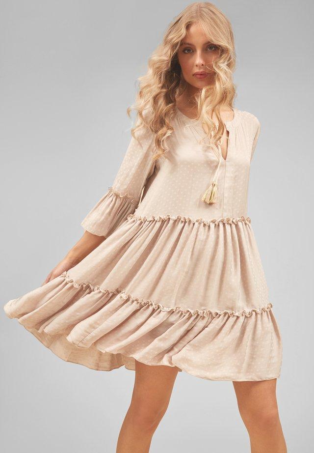 DEW - BOHO - Sukienka letnia - cream
