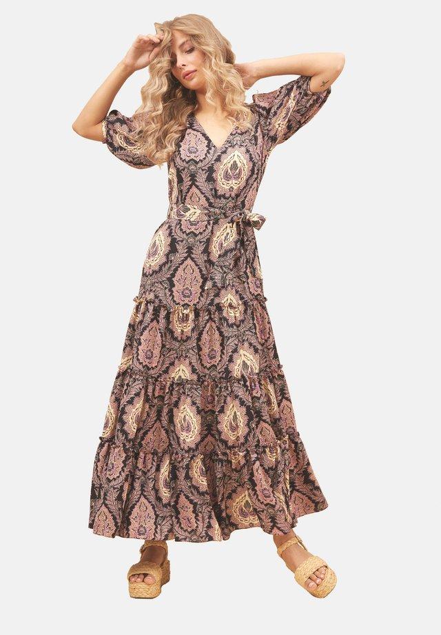 MIT PAISLEY PRINT  - Długa sukienka - black