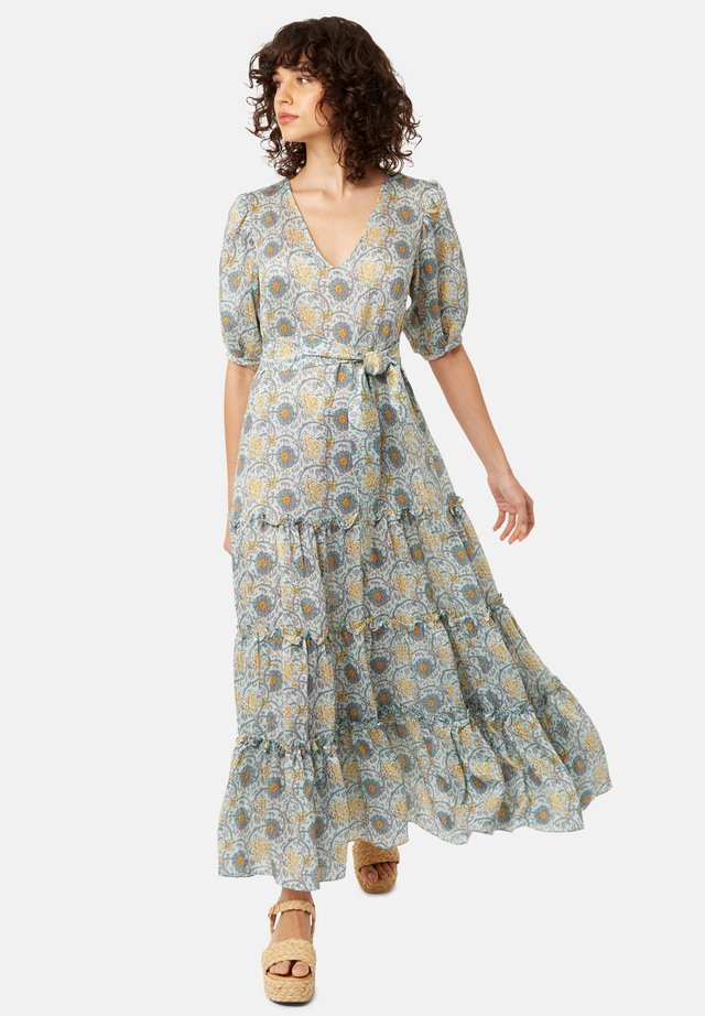 MIT BOHO PRINT - Długa sukienka - green