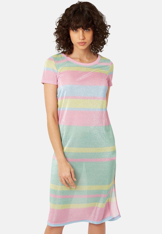 MIT STREIFEN  - Sukienka z dżerseju - multi-coloured