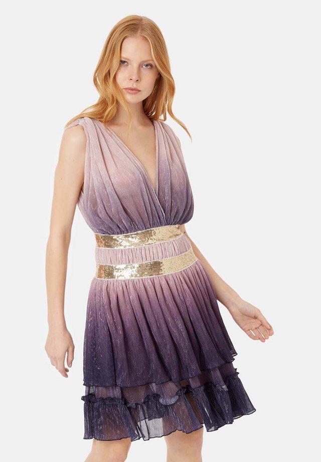 Sukienka koktajlowa - pink/purple