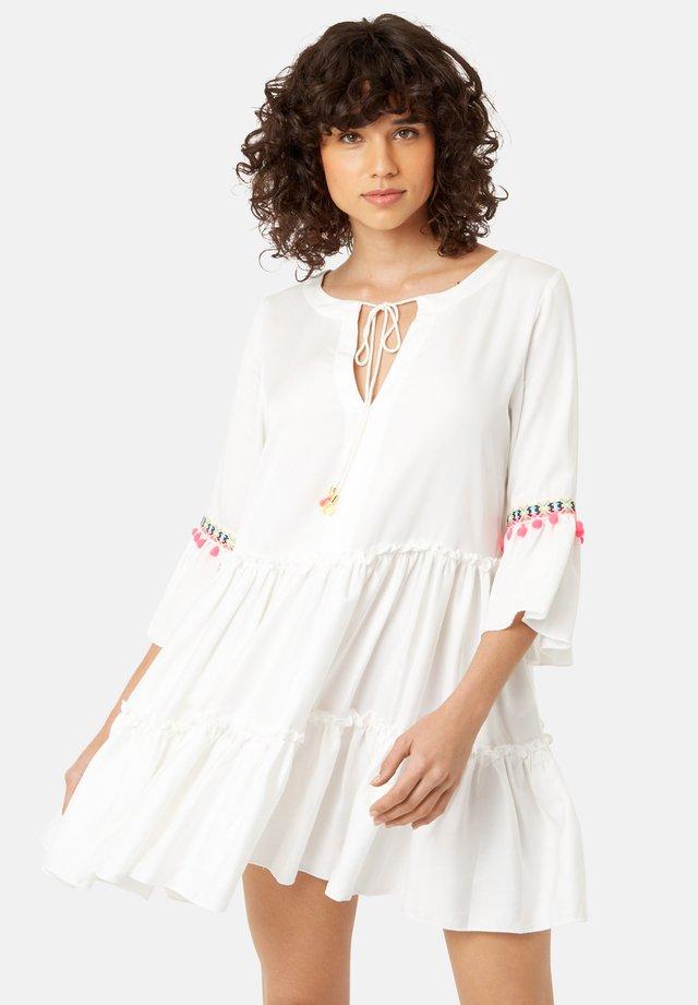 DEW IN WHITE - Day dress - white
