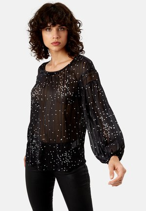 SEASONS - OBERTEIL-SCHWARZ - Blouse - black