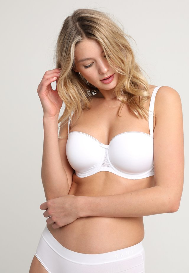 BEAUTY FULL ESSENTIAL  - Strapless BH - white