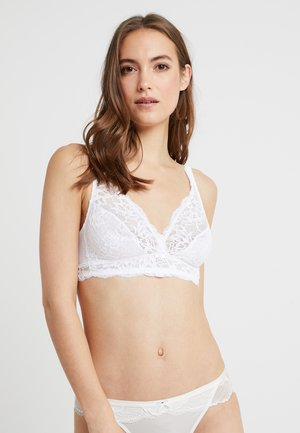 AMOURETTE CHARM - Triangel-bh - white
