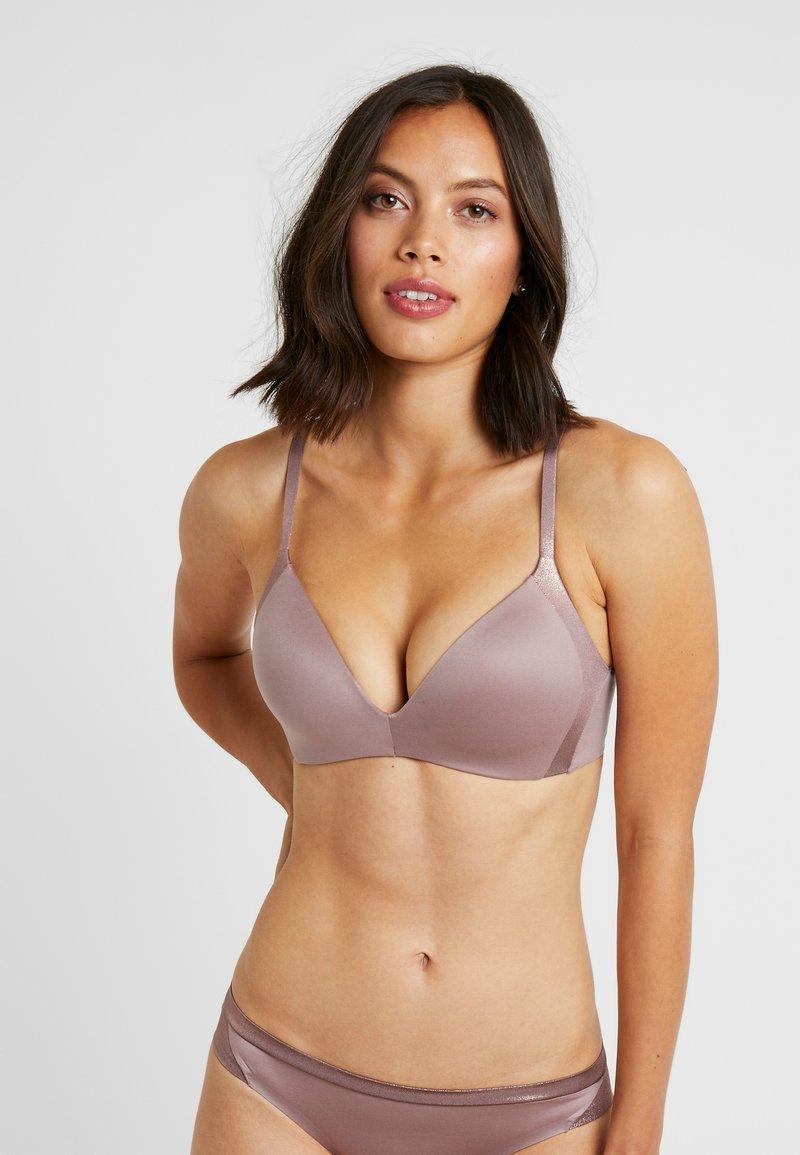 Triumph - MAKE UP SOFT TOUCH - Triangle bra - sweet chestnut