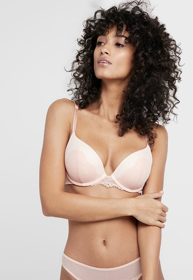 SPOTLIGHT WHUM - Push-up bra - dusty pink