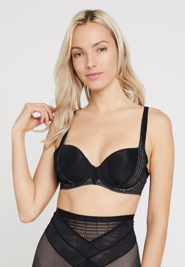 CONTOUR SENSATION - Underwired bra - black