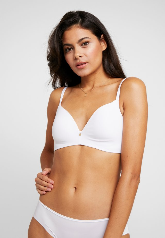 BODY MAKE-UP ESSENTIALS - T-shirt bra - white