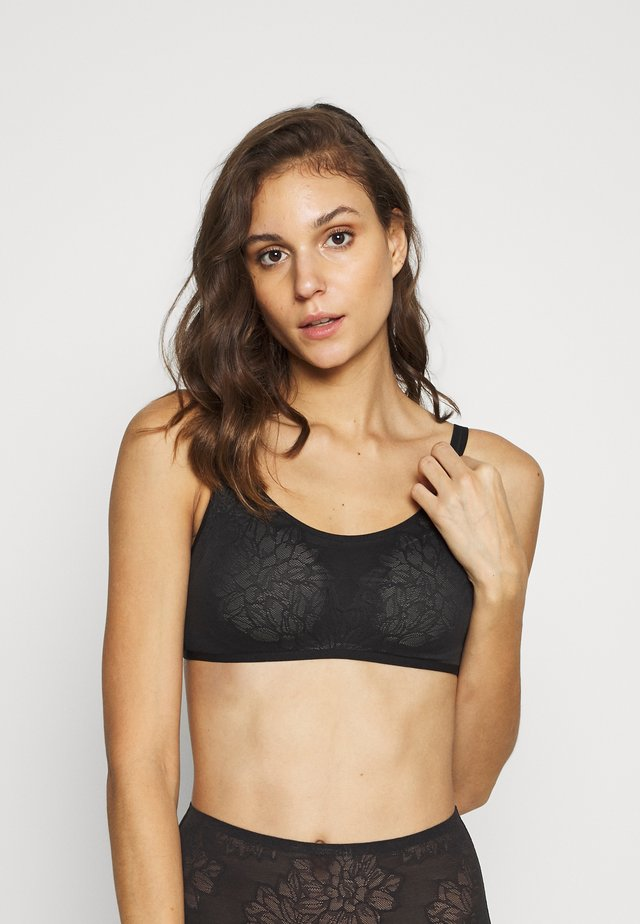 FIT SMART - Reggiseno - black