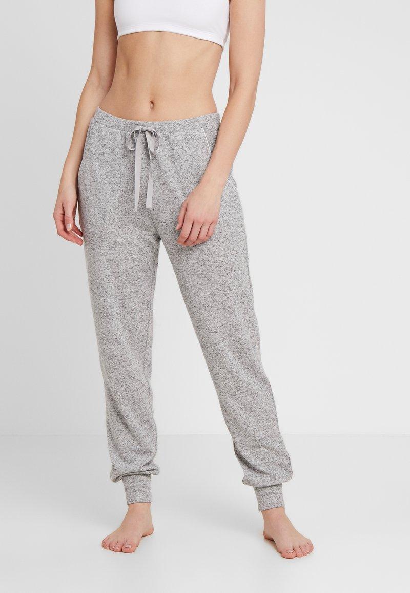 Triumph - THERMAL COSY TROUSER - Pyžamový spodní díl - medium grey melange