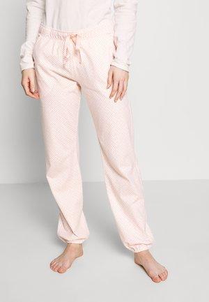 MIX & MATCH TROUSERS - Pyjamasbukse - brown light combination