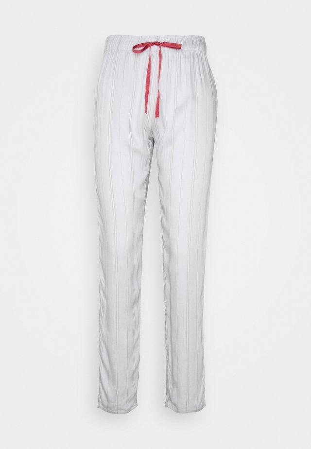 MIX MATCH TROUSER STRIPE - Spodnie od piżamy - moonstone grey