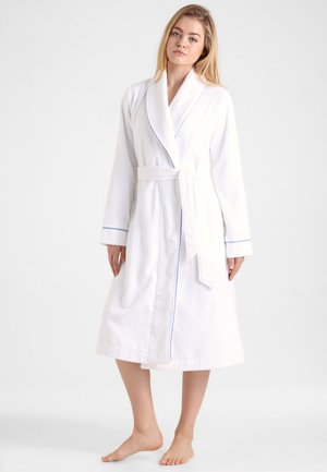 ROBES LONG ROBE - Dressing gown - white