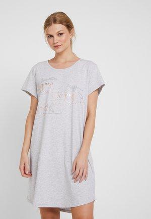 NIGHTDRESSES - Nattskjorte - medium grey melange