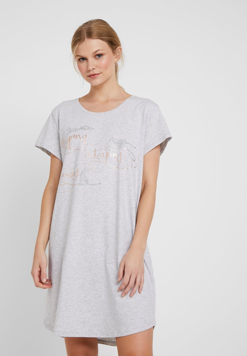 Triumph - NIGHTDRESSES - Nachthemd - medium grey melange