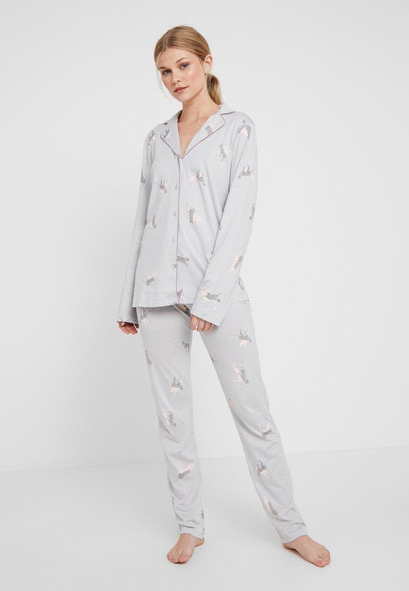 Triumph - BOYFRIEND SET - Pyjamas - moonstone grey
