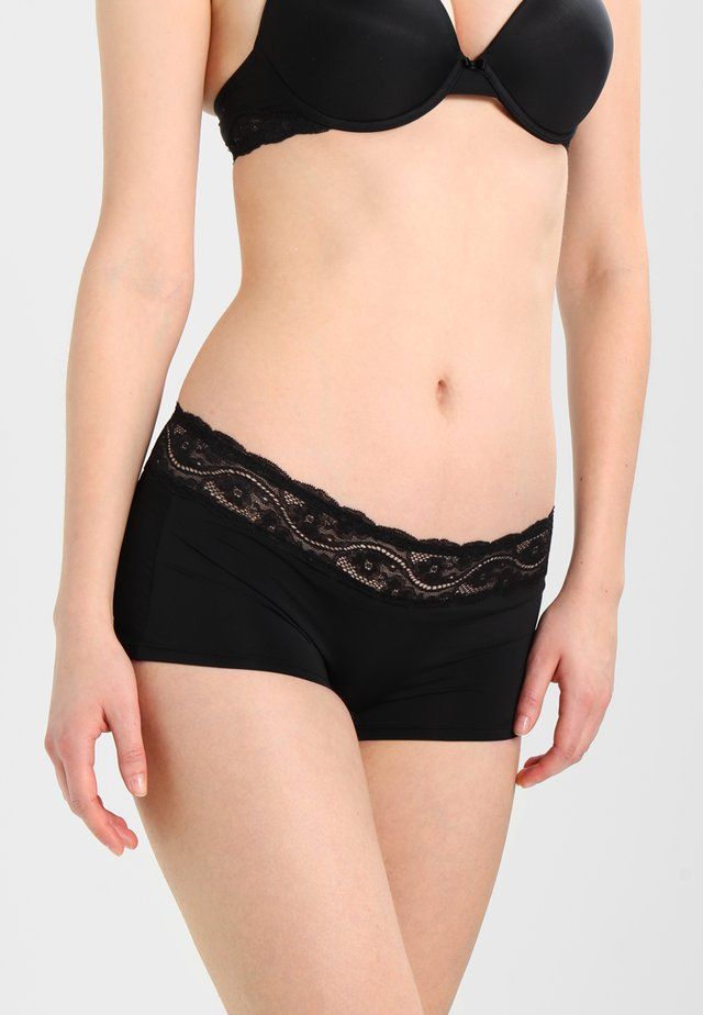 LOVELY MICRO SHORT - Underkläder - black