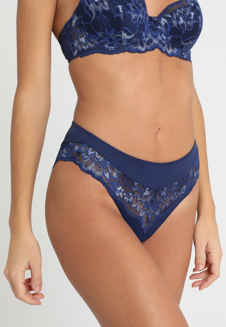 Triumph - AMOURETTE CHARM TAI - Kalhotky - blue dark combination