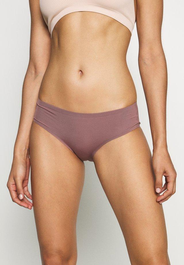 SPORTY HIPSTER - Slip - rose brown