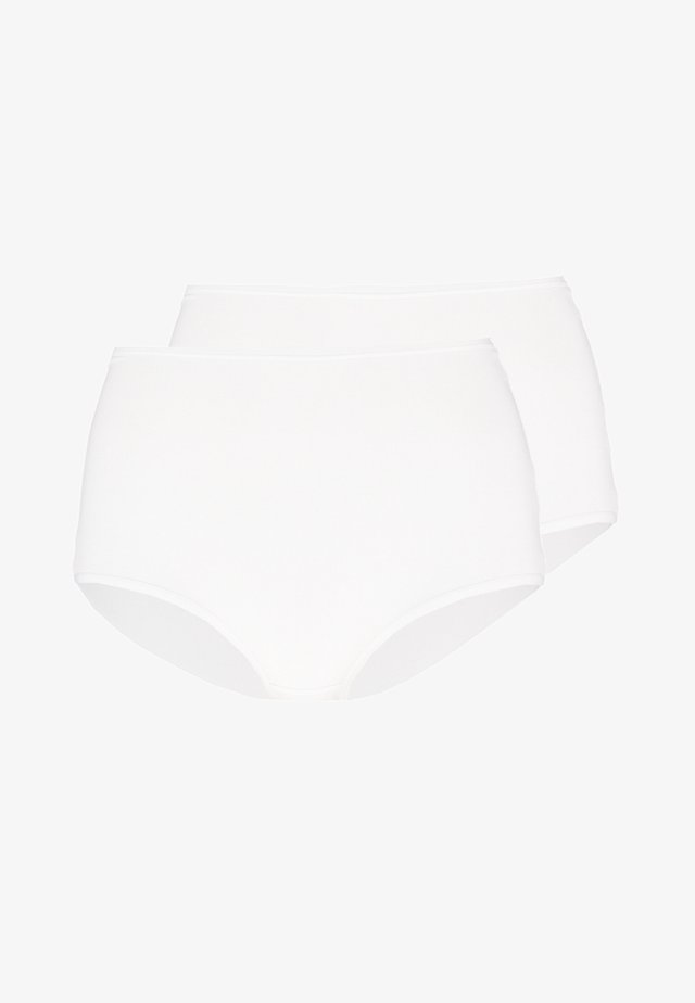 TOUCH OF MAXI 2 PACK - Culotte - white
