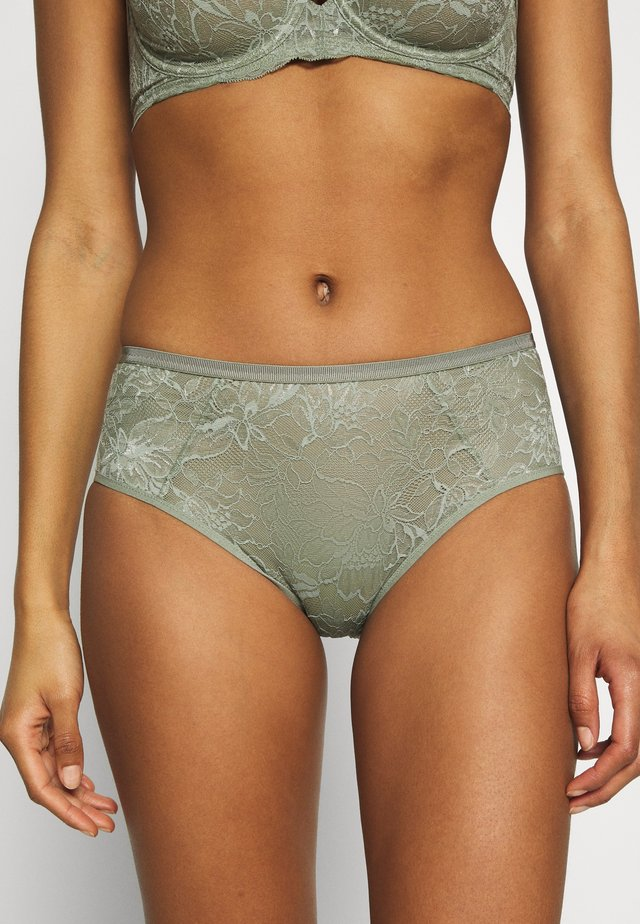 AMOURETTE CHARM MAXI  - Panty - moss green