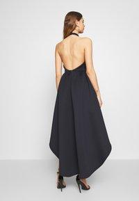 True Violet - HALTER NECK HIGH LOW DRESS - Vestito elegante - blue - 2