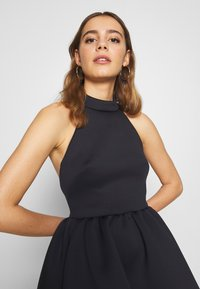 True Violet - HALTER NECK HIGH LOW DRESS - Vestito elegante - blue - 3