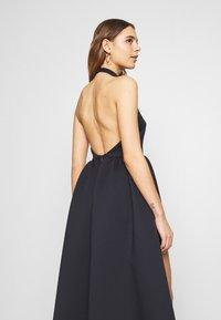 True Violet - HALTER NECK HIGH LOW DRESS - Vestito elegante - blue - 4