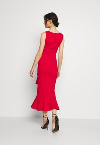 True Violet - MIDI DRESS  - Vestido de cóctel - red - 2