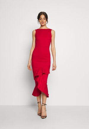 MIDI DRESS  - Cocktail dress / Party dress - red