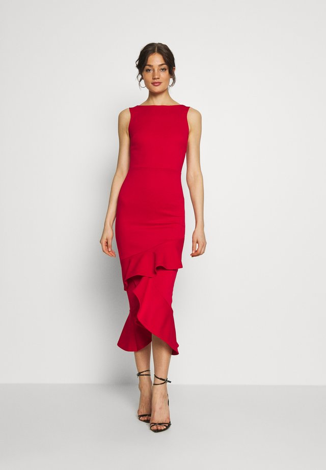 MIDI DRESS  - Juhlamekko - red