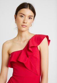 True Violet - ONE SHOULDER FRILL - Combinaison - red - 3
