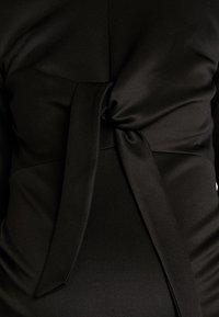 True Violet - TIE FRONT MIDAXI - Vestido informal - black - 6
