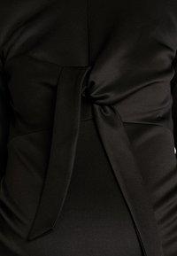 True Violet - TIE FRONT MIDAXI - Korte jurk - black - 6