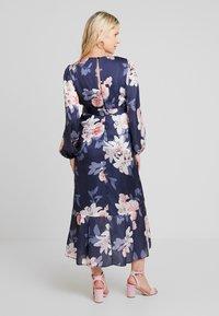 True Violet Maternity - WRAP LONG SLEEVES - Maxi šaty - blue - 2