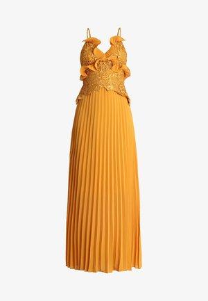 Vestido de fiesta - mustard