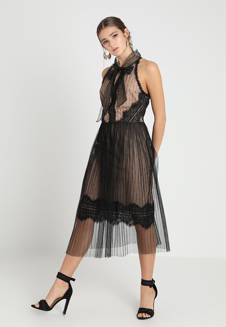 True Decadence - Cocktailkleid/festliches Kleid - black/nude