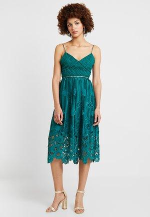 Suknia balowa - dark green