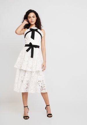 Ballkleid - white/black