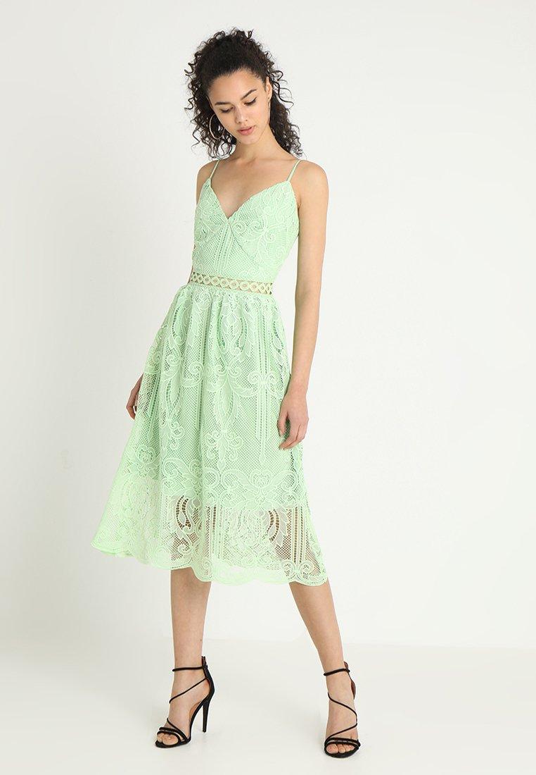 True Decadence Tall - CUT OUT MIDI DRESS - Sukienka letnia - mint