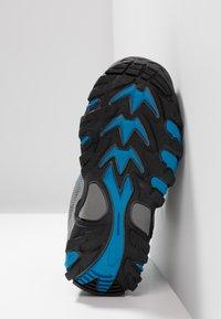 TrollKids - KIDS FJELL HIKER - Zapatillas de senderismo - anthracite/medium blue - 5