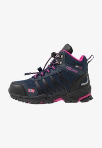 TrollKids - KIDS  MID - Hiking shoes - navy/magenta - 1