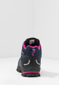 TrollKids - KIDS  MID - Hiking shoes - navy/magenta - 4