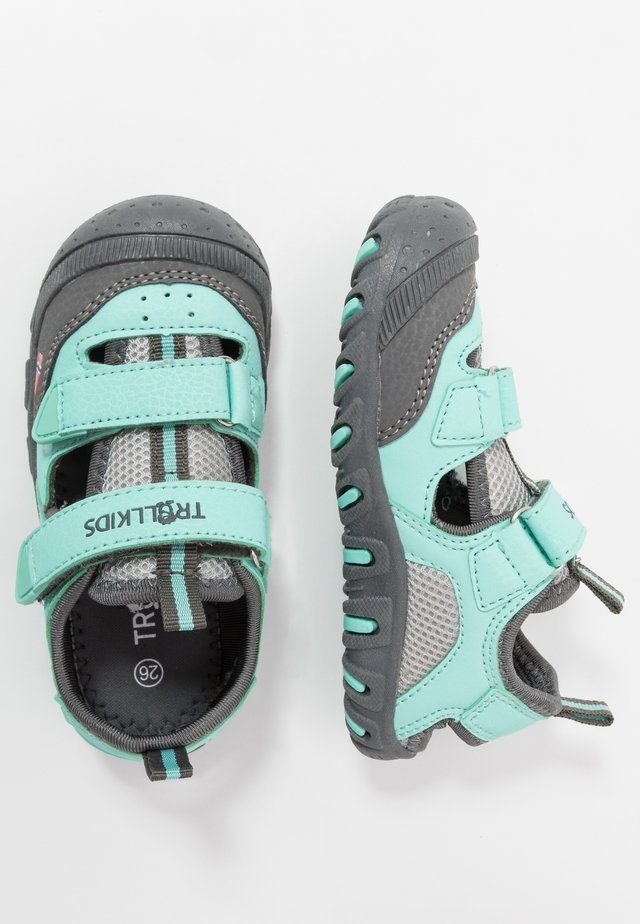 KIDS LILLESAND - Walking sandals - mint