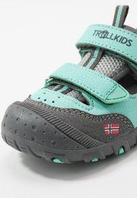 TrollKids - KIDS LILLESAND - Sandały trekkingowe - mint - 2