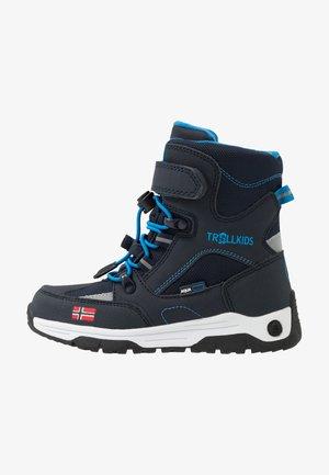 KIDS LOFOTEN WINTER BOOTS XT - Botas para la nieve - navy/medium blue